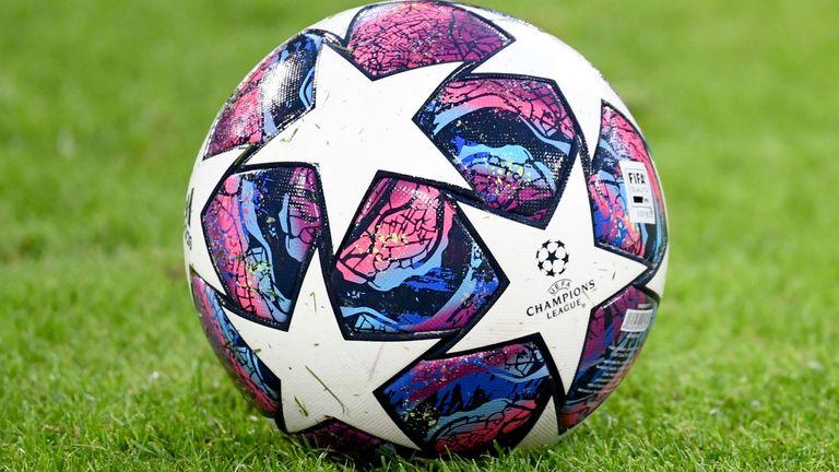 Champions League ball (AP)