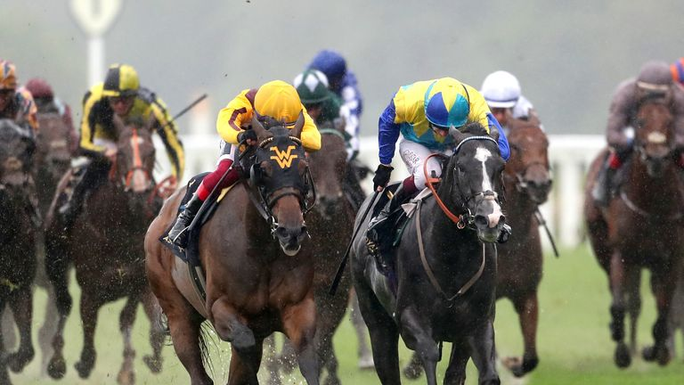 Campanelle and Dragon Symbol in the Commonwealth Cup at Royal Ascot