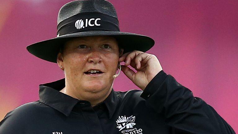 Umpire Sue Redfern