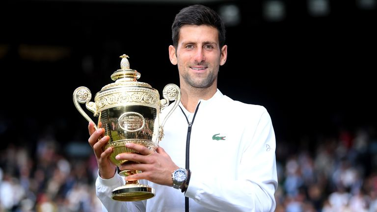 The 34-year-old is eyeing a sixth Wimbledon title as he aims to preserve his hopes of completing the 'calendar slam'