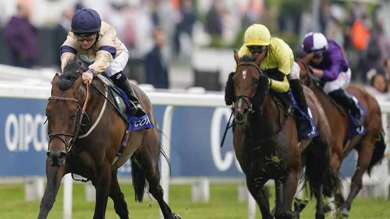 Doyle rides Mehmento to victory in the Surrey Stakes at Epsom