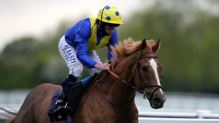 Dream of Dreams wins the Leisure Stakes at Windsor