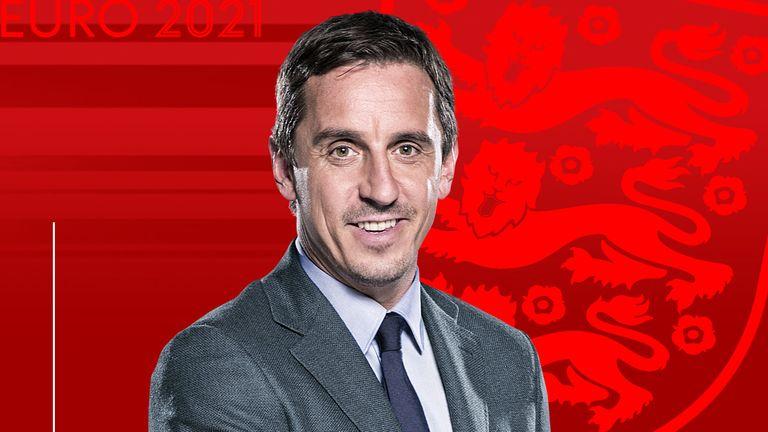 Gary Neville England Euro 2020