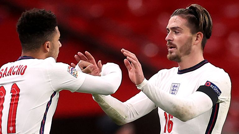 There's been calls to see more of Jadon Sancho and Jack Grealish after England put in an insipid performance against Scotland