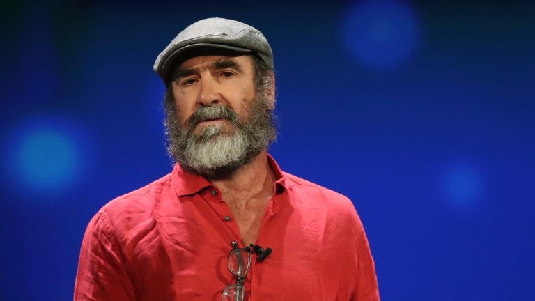 Manchester United legend Eric Cantona has become the first to pledge his support to fan initiative 'Sign for United'