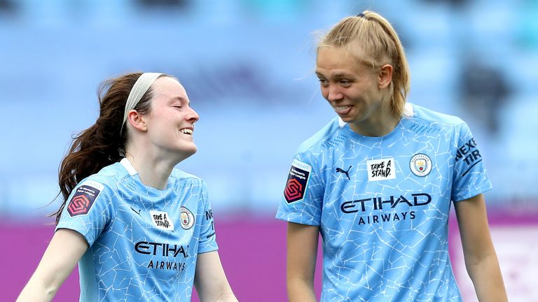 Esme Morgan has thrived playing alongside international stars such as Rose Lavelle this season