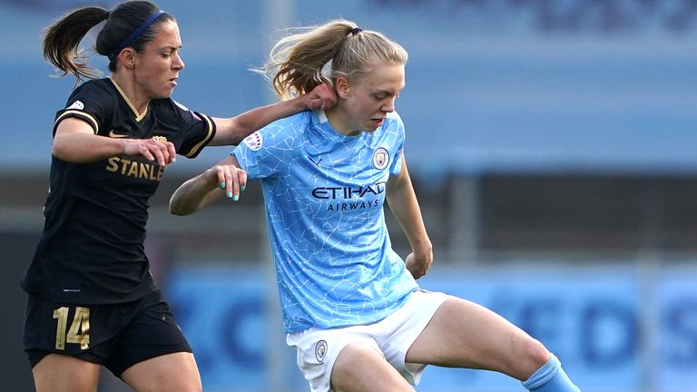 Esme Morgan ended the 2020/21 campaign having made 24 appearances for Manchester City