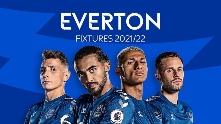 Everton Fixtures 2021/22