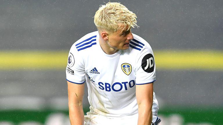 Ezgjan Alioski denied he had made any form of discriminatory gesture during Leeds' game against Burnley