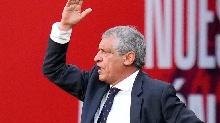 Fernando Santos has stayed on as Portugal manager