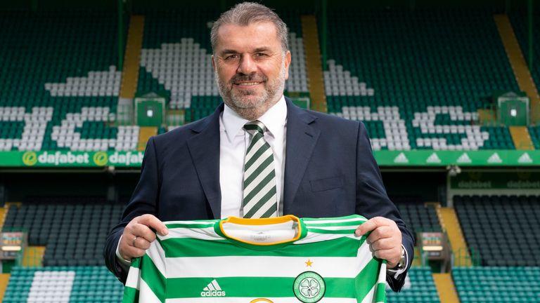Celtic manager Ange Postecoglou is unveiled at Celtic Park