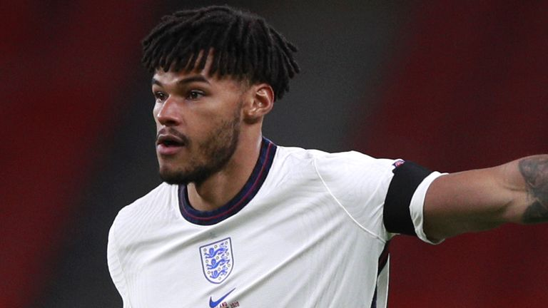 Tyrone Mings is in contention to start England's tournament opener against Croatia