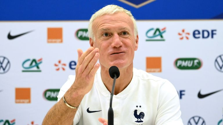 Didier Deschamps' France are regarded as one of the favourites to win Euro 2020