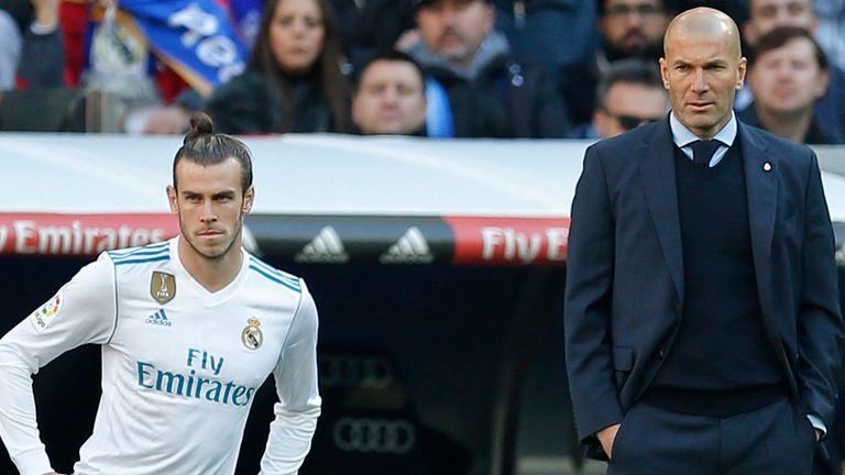 Bale and Zinedine Zidane endured a tumultuous relationship at Real Madrid