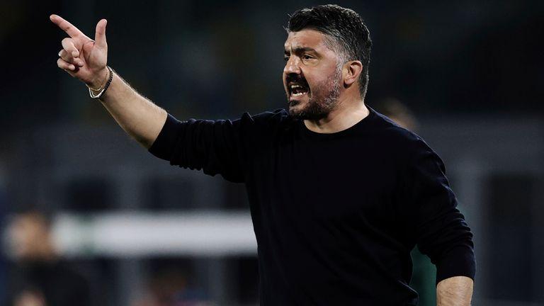 Tottenham have ended talks with Gennaro Gattuso