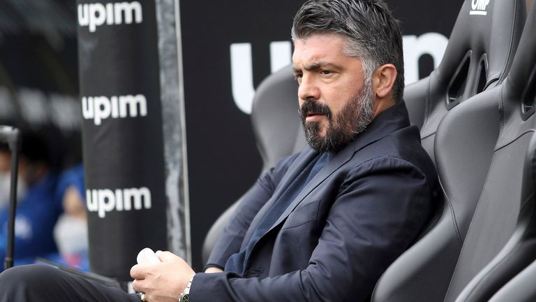 Fiorentina announced Gennaro Gattuso's appointment on May 25