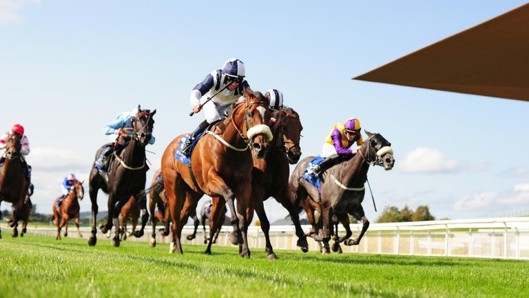 Glass Slippers a remporté le Flying Five Stakes à Curragh