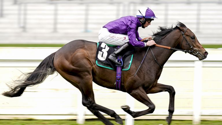 Go Bears Go wins the Railway Stakes at the Curragh