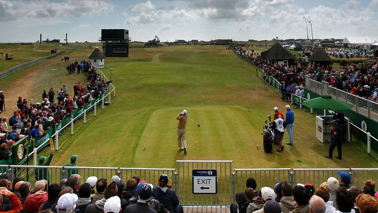 Royal St George's last hosted The Open in 2011