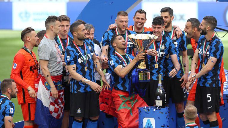 Serie A winning team Inter Milan