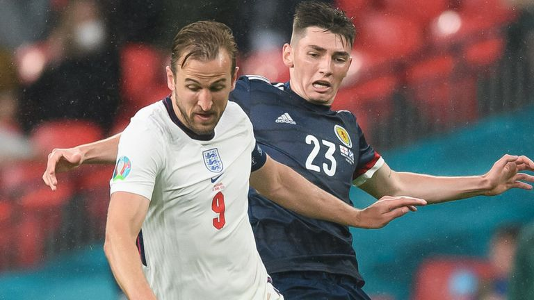 Harry Kane and Billy Gilmour had very different evenings for their respective sides