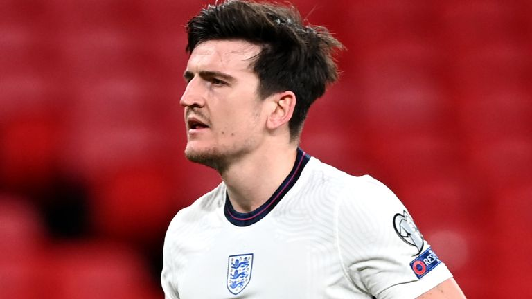 England defender Harry Maguire (PA)