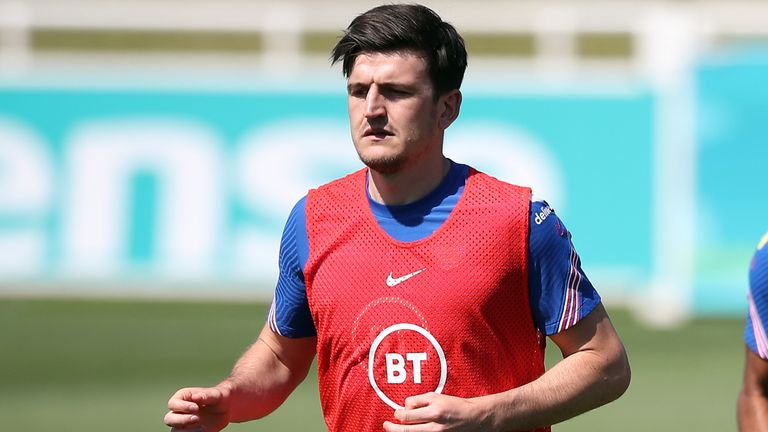 Harry Maguire last featured for the Three Lions in their World Cup qualifiers back in March