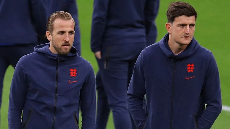 Harry Maguire could return, while Harry Kane has faced criticism for his performances so far