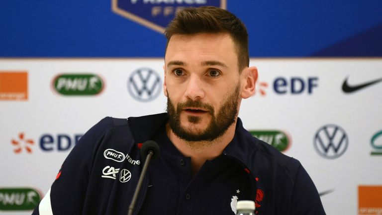 Hugo Lloris played down talk of a rift in the France squad