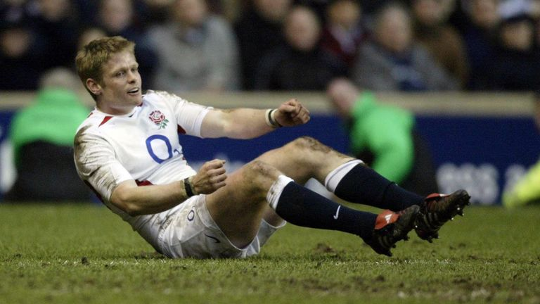 Iain Balshaw could not fulfil his Lions squad place in 2005 due to a thigh injury