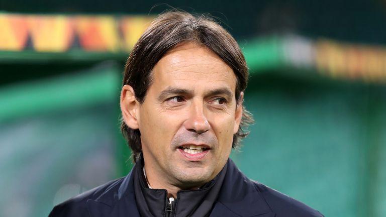 Former Lazio coach Simone Inzaghi has replaced Antonio Conte at Inter