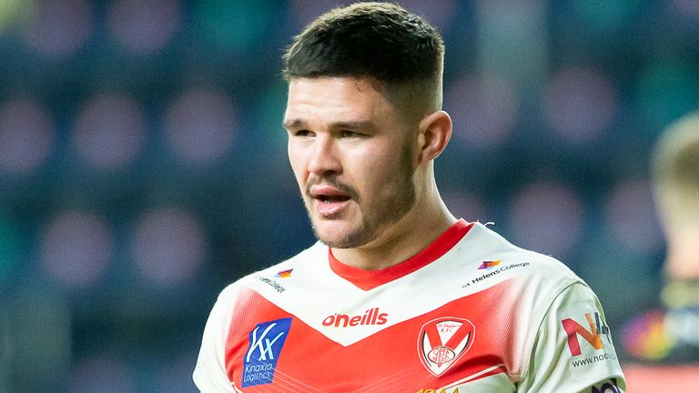 James Bentley suffered a back injury in St Helens' loss to Catalans