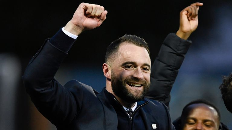 Dundee manager James McPake has signed a new contract after steering the club back to the Premiership