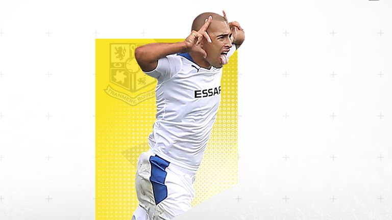 James Vaughan signed off his playing career by being included in the PFA League Two Team of the Year