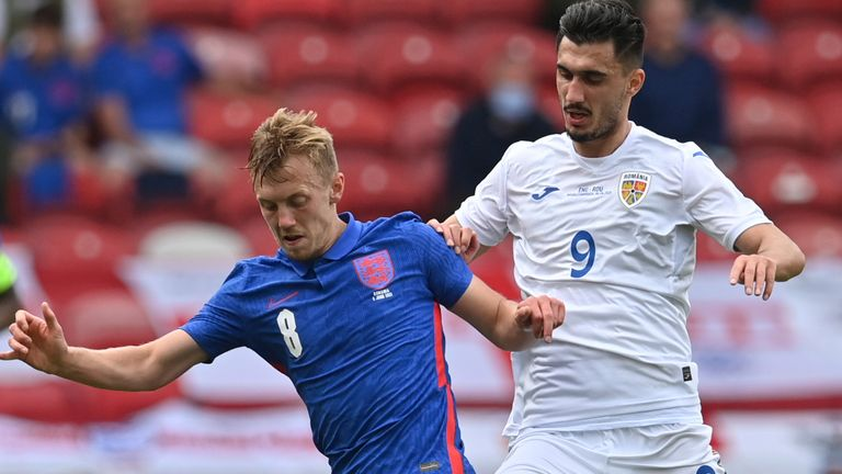 James Ward-Prowse impressed for England against Romania