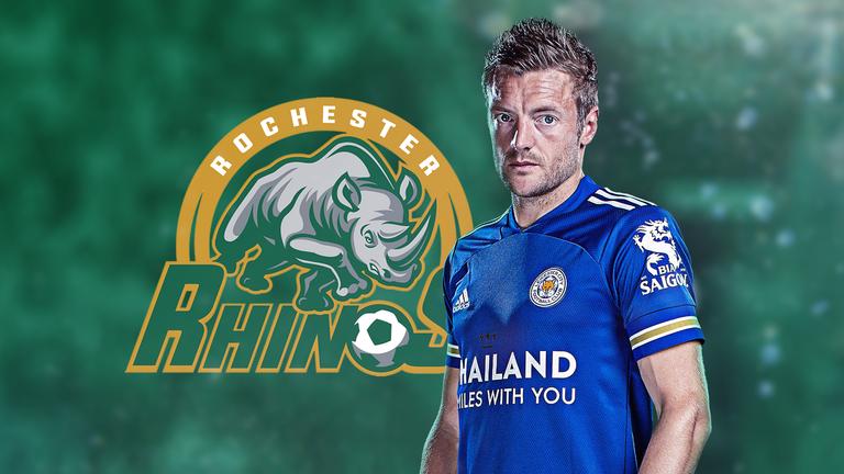 Jamie Vardy has bought USL League One side Rochester Rhinos