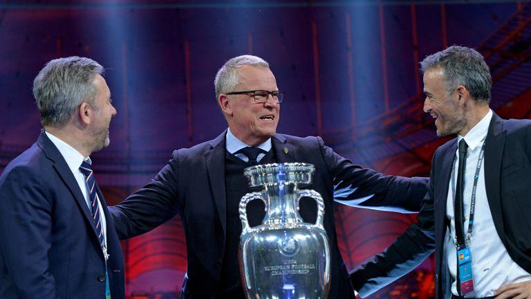 السويدية يان أندرسون في قرعة يورو 2020