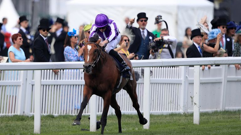 Ryan Moore will ride Japan in the Coronation Cup