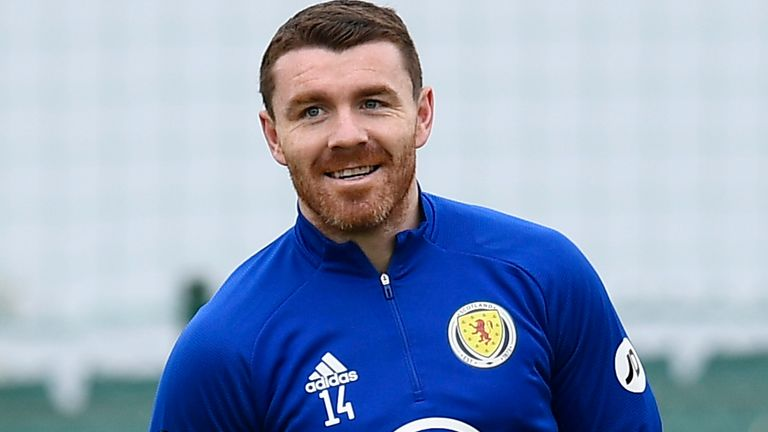ALICANTE, SPAIN - MAY 28: John Fleck during a Scotland training session at La Finca Resort on May 28, 2021, in Alicante, Spain (Photo by Jose Breton / SNS Group)