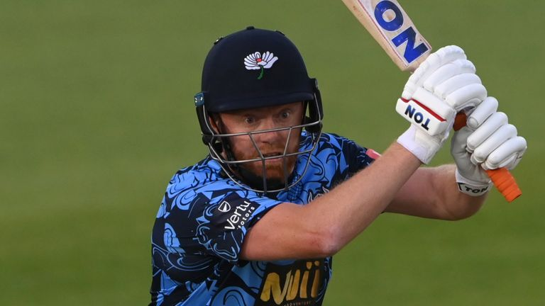 Jonny Bairstow found some form with the bat for Yorkshire, scoring a fine fifty