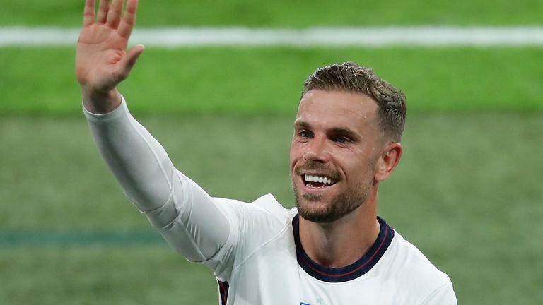 Jordan Henderson a fost înlocuitorul reprizei a doua în victoria de marți cu 1-0 pentru cehi