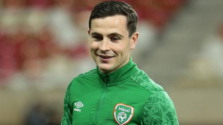 Republic of Ireland midfielder Josh Cullen (PA)