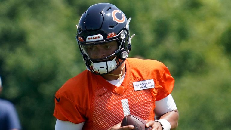 Justin Fields to start season as QB2 with Chicago Bears, confirms head coach