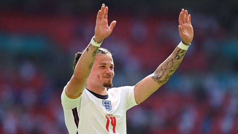 Kalvin Phillips impressed for England in their win over Croatia