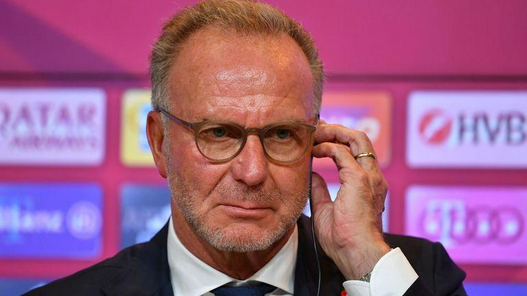 Karl-Heinz Rummenigge (AP)