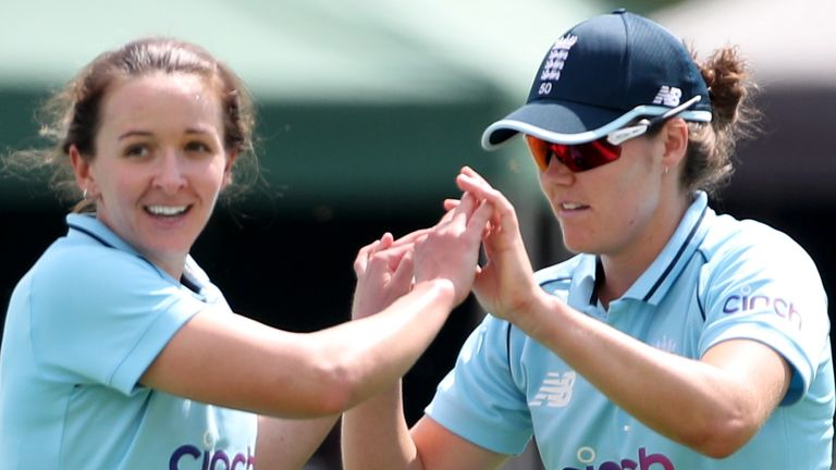 Watch the best of the action from the second ODI between England and India at Taunton.