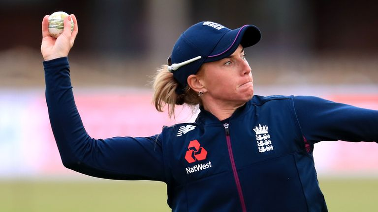 England's Lauren Winfield-Hill will captain Northern Superchargers in The Hundred