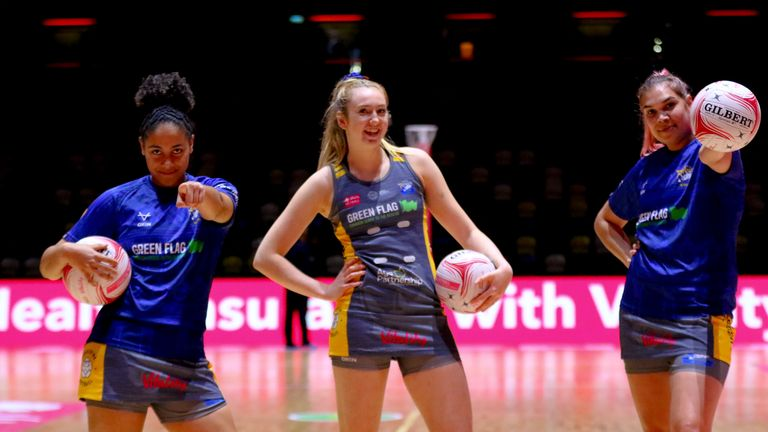 Leeds Rhinos Netball are not only winning, but they're having fun and have gelled quickly as a team (Image credit - Ben Lumley)