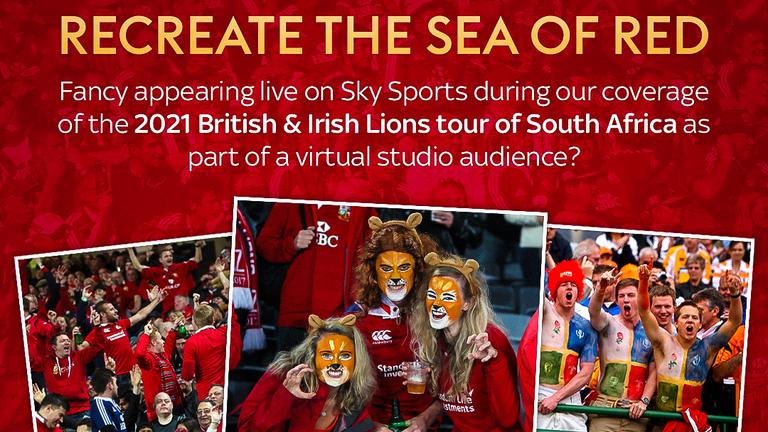 Be part of our virtual audience