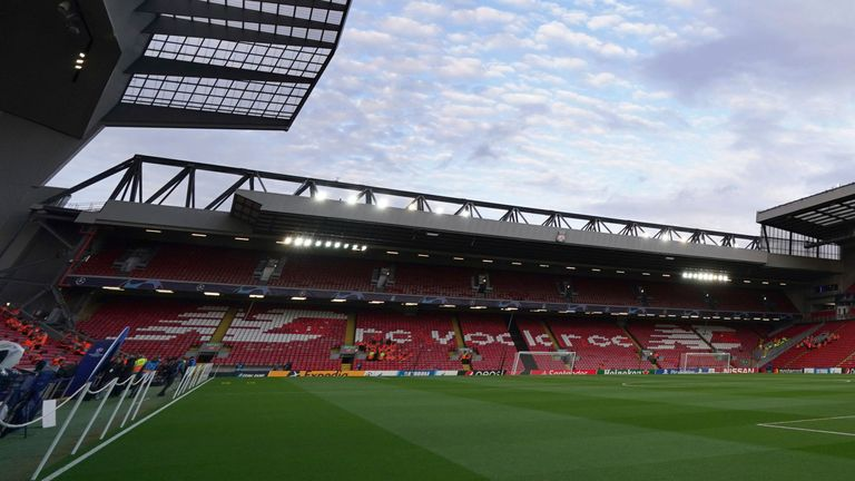 The Anfield Road Stand is set for a 7,000-seat increase in capacity.